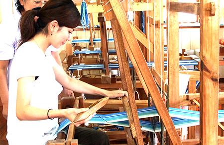 棉狹織體驗或石垣燒體驗