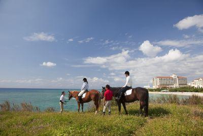 ホテル日航アリビラ 乗馬
