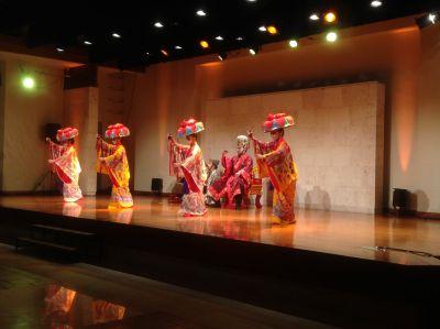 万国津梁館 アトラクション:琉球舞踊