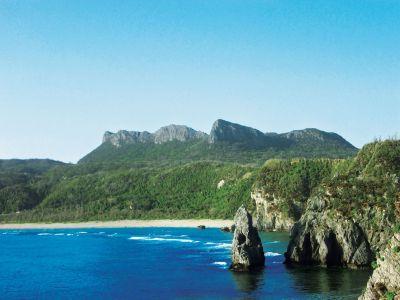大石林山・辺戸岬からの全景