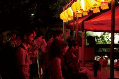 福州園 ユニークベニューパーティー(屋台)