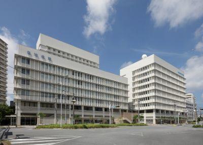 沖縄県市町村自治会館 外観全景
