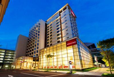 メルキュールホテル 外観-night