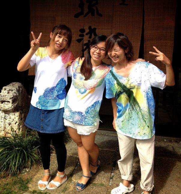 首里琉染 サンゴ染め体験4