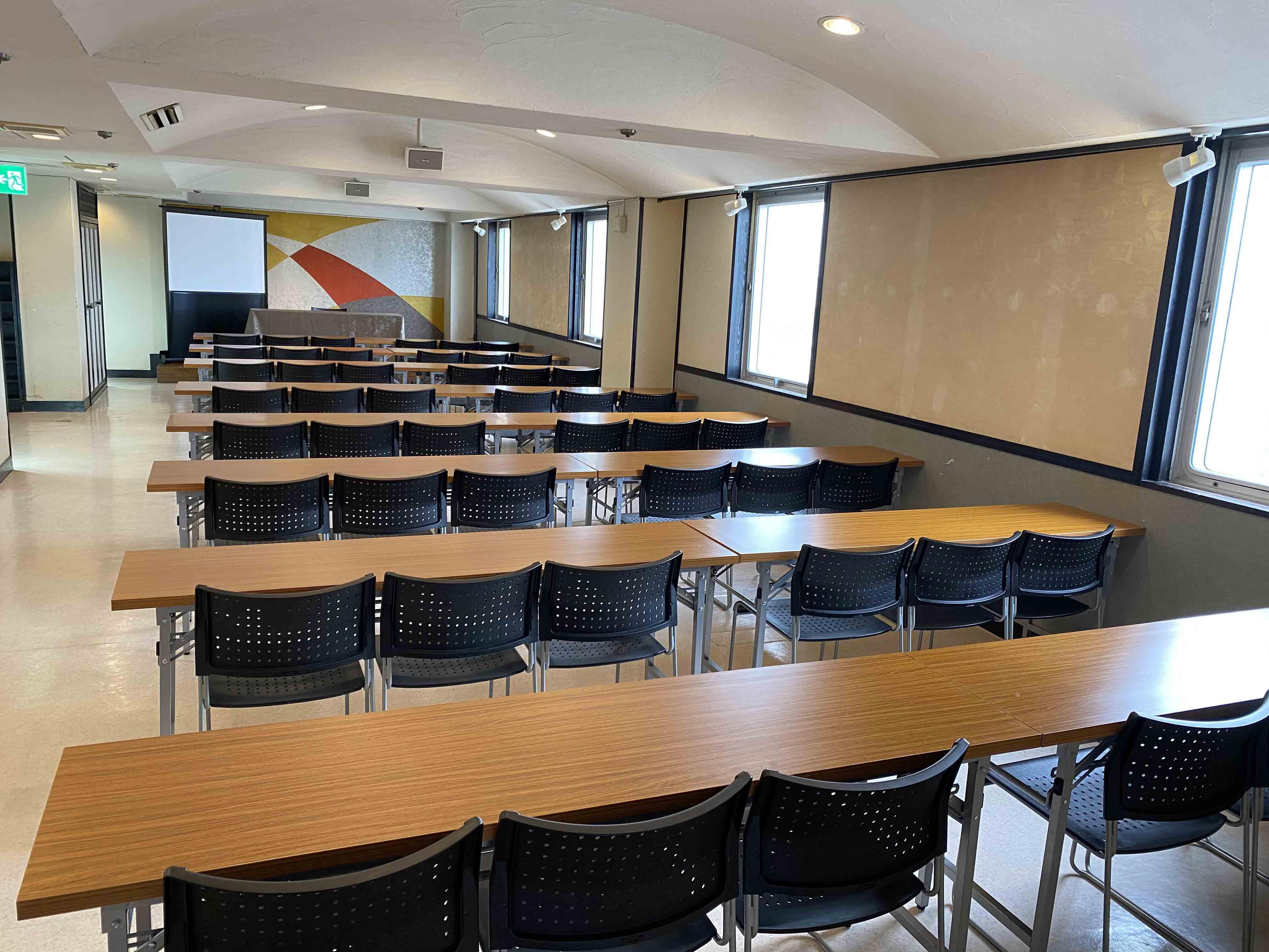 会議室スクール形式