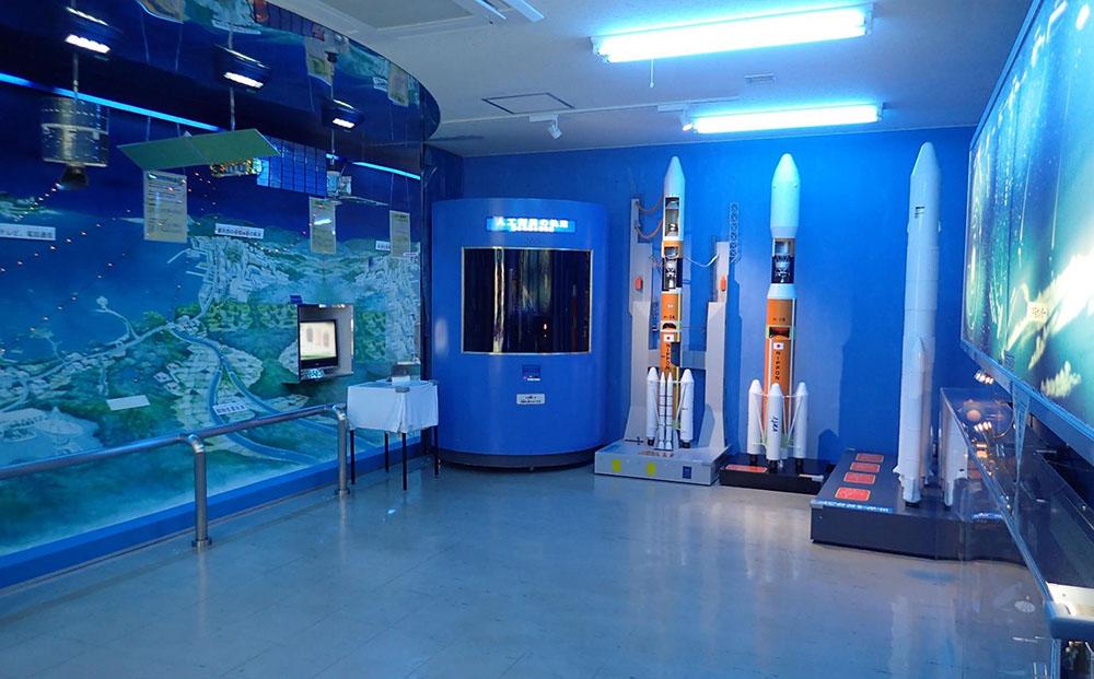 沖縄宇宙通信所 第1展示室