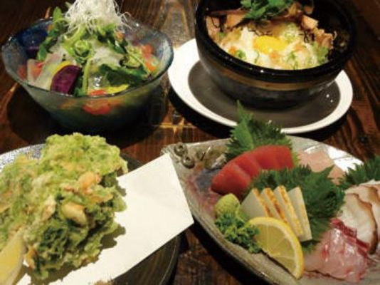 Awamori and Okinawa Dish GOYA