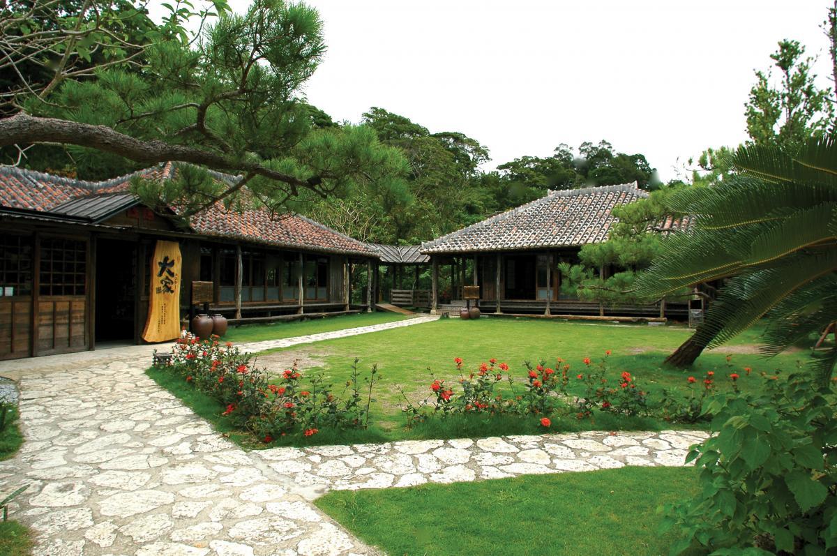 Okinawan Traditional House Ufuya