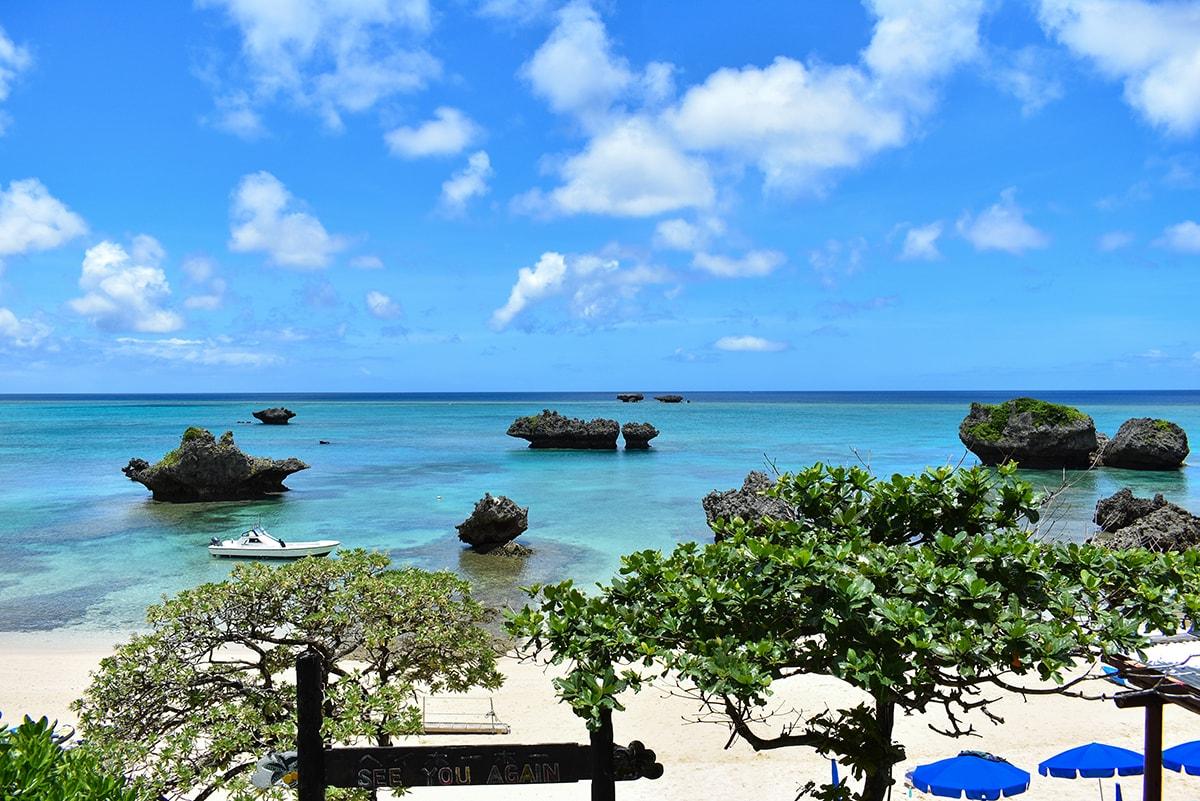 ヨウ島展望台からの眺め