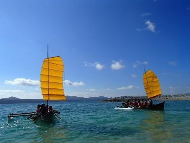 フーカキサバニ「サバニ体験乗船」
