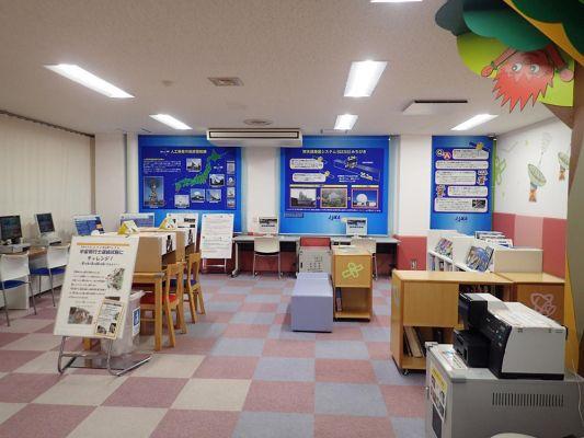 沖縄宇宙通信所 宇宙情報ルーム