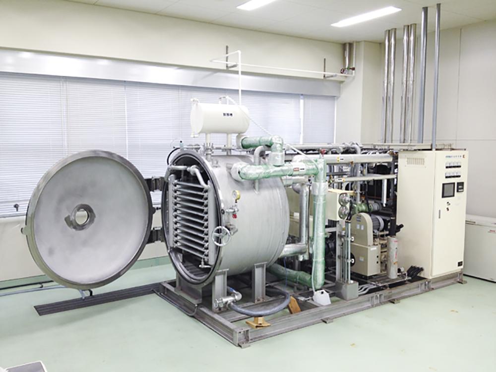 実証機器(実証用凍結乾燥機)