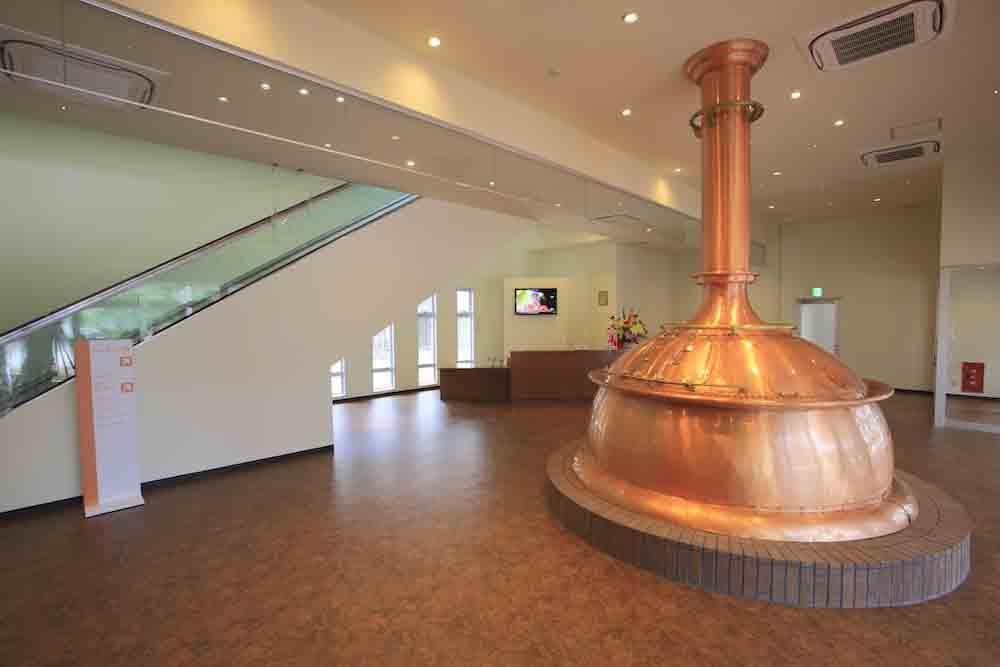 オリオンビール工場内
