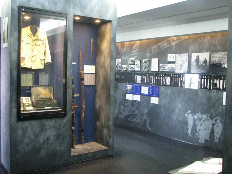 旧海軍司令部壕「資料館」
