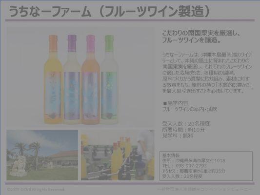 うちなーファーム(フルーツワイン製造)