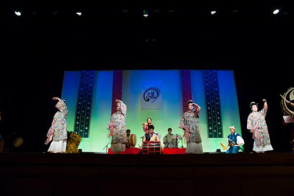 琉球舞踊とのコラボレーション
