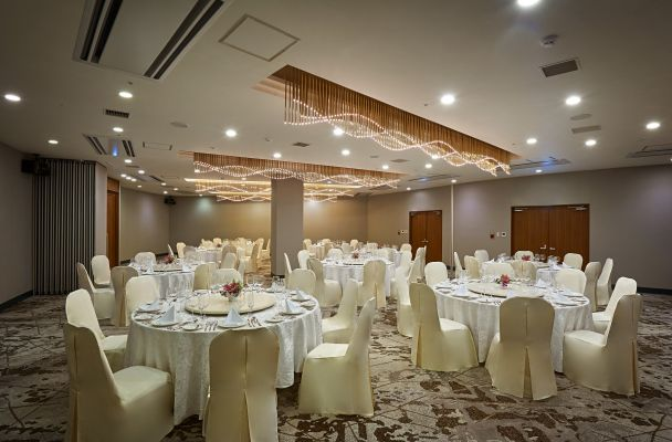 Banquet hall for paty style.