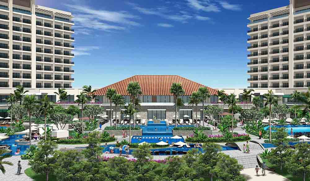 【2022年夏開業予定】琉球ホテル&リゾート 名城ビーチ