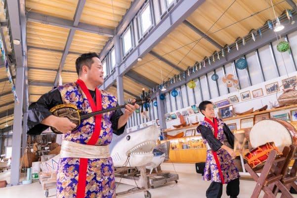 沖縄文化体験(民謡ショー)