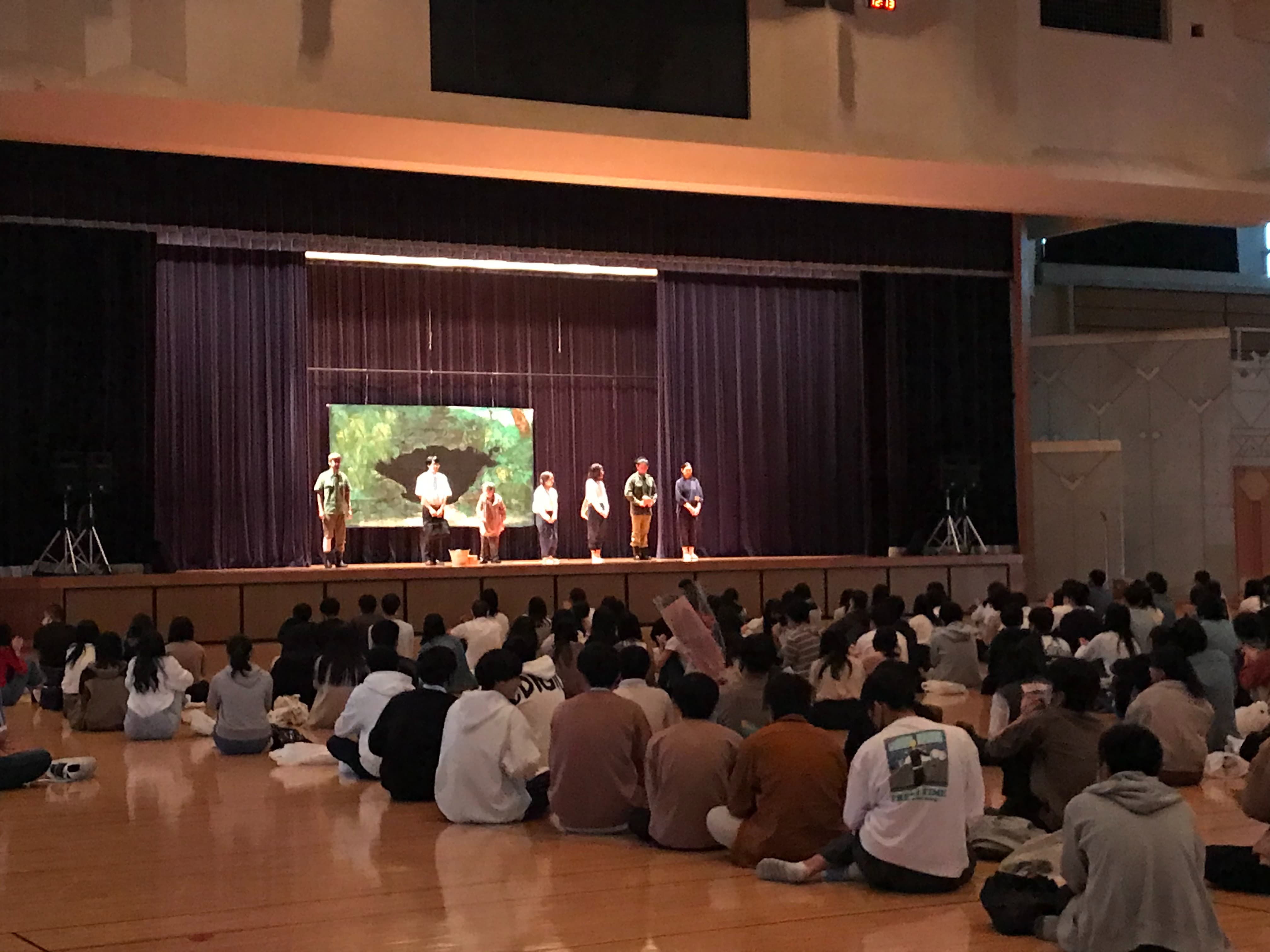 NPO法人 自然体験学校「演劇で学ぶ沖縄戦~白梅学徒隊から託されたもの~」